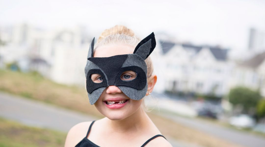 DIY Raccoon Mask