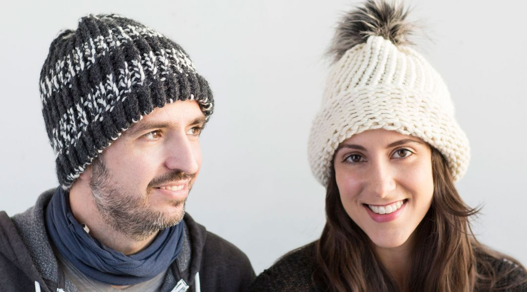 Loom Knitting Make A Hat By Michele Of Simplicity Creativebug