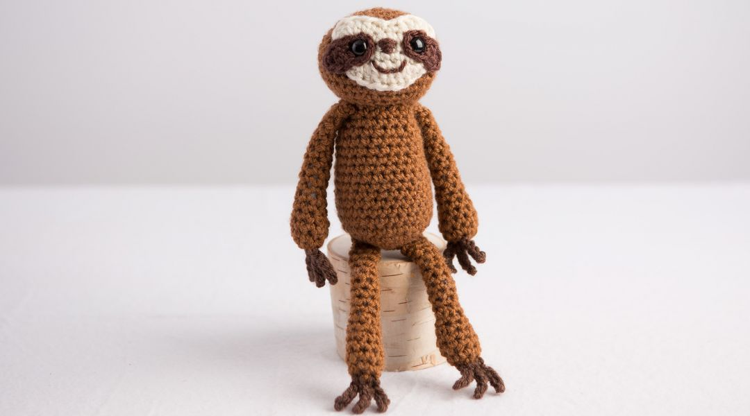Crocheted Sloth