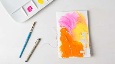 Meditative Art Journaling By Get Messy Creativebug