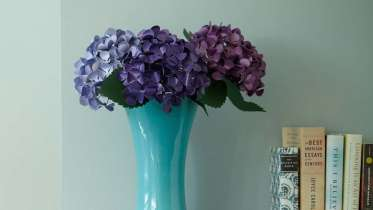 Cricut paper flowers make a hydrangea by lia griffith creativebug the ability to leave comments ask questions and interact with other students mightylinksfo