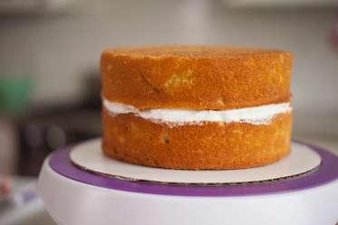 Buttercream Iced Cake Storage