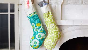 the ability to leave comments ask questions and interact with other students - Modern Christmas Stockings
