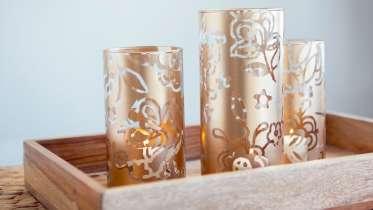 Cricut Crafts Make Stenciled Vases By Courtney Cerruti