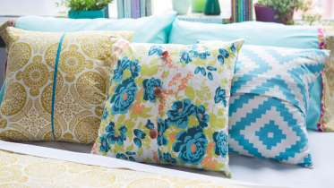 Learn how to make your own pillow with this free online sewing class