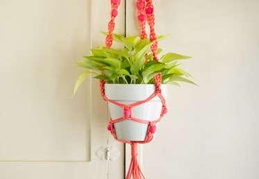 Macrame Plant Hanger Creativebug