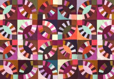 Double Wedding Ring Quilt by Tara Faughnan Creativebug