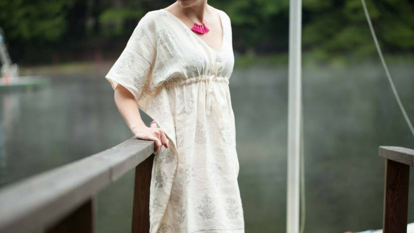 Learn to Sew a Summer Caftan Sewing Pattern Class