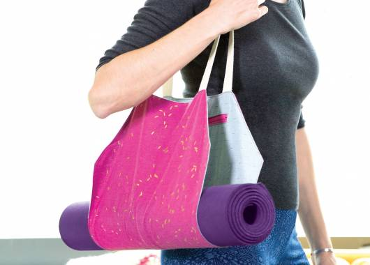 Sew a Yoga Mat Bag