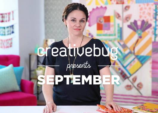 Creativebug Presents September