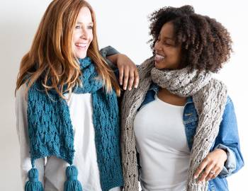 Knit a Super Scarf