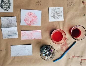 Bubble Prints: 8/23/16