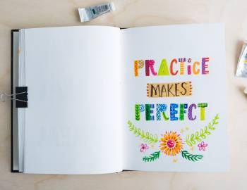Illustrative Painting with Gouache: Lettering with Gouache