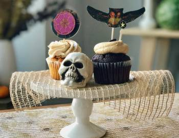 Spooky Cupcake Toppers: 10/18/16