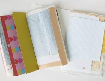 Creating a Mixed-Paper Sketchbook