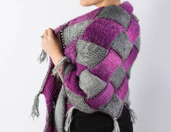 Entrelac Workshop: Intro-to-Entrelac Shawl