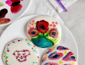 Painted Cookies: 2/9/17