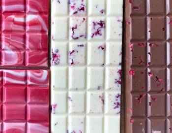 Raspberry Chocolate Bars: 2/14/17