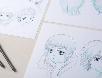 Manga Drawing: How to Draw Faces