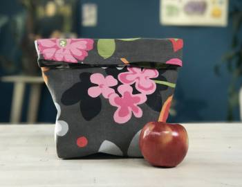 Sew a Waxed Canvas Lunch Sack: 8/17/17