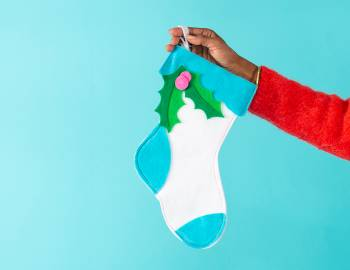 Cricut Crafts: Felt Christmas Stocking