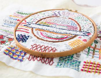 Daily Embroidery Challenge: Stitch-a-Day Sampler