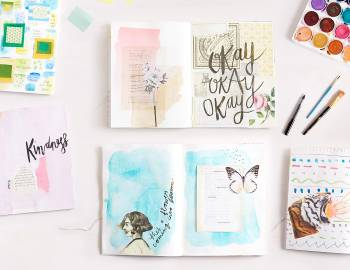 Daily Art Journal Challenge: 30 Prompts with Get Messy