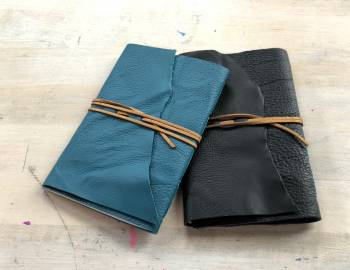 DIY Leather Journal: 9/11/18