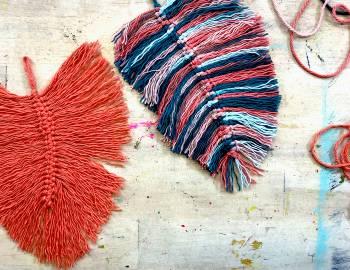 Macrame Feathers: 1/17/19