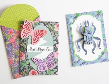 Cricut Crafts: Layered Nature Card