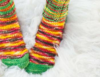 Hudson Valley Winter Socks