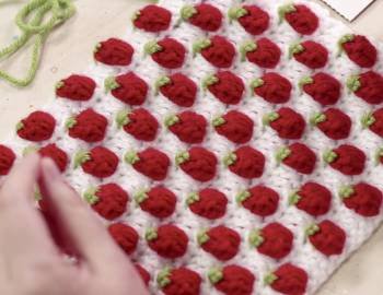 Crochet the Strawberry Stitch: 1/16/20