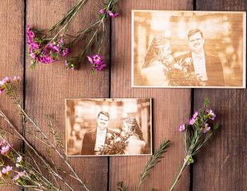Glowforge Projects: Engrave a Photo