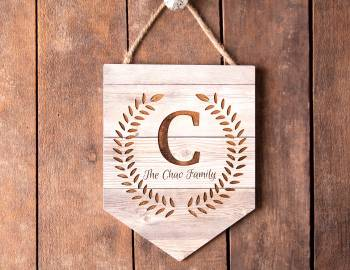 Glowforge Projects: Engraved Wooden Sign