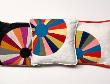 Sew a Dresden Plate Pillow