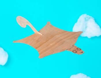 STEAM: Make a Flying Squirrel Glider
