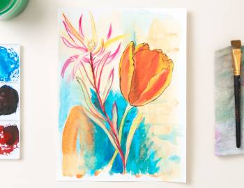 Inspired by Botanicals: A Daily Drawing and Painting Practice