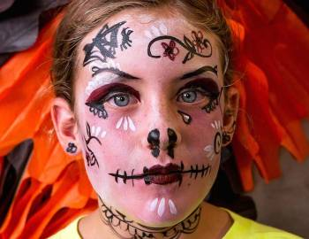 Kids Halloween Face Painting
