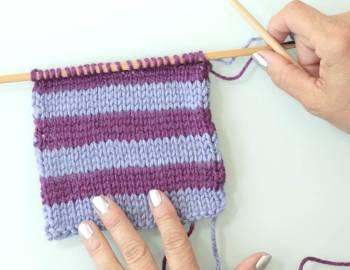 Knitting Stitch Pattern Basics