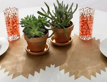 Cutting Machine Crafts: Geometric Party Décor