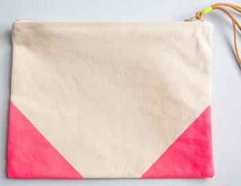 Sew a Canvas Clutch