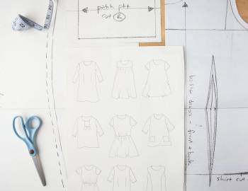 Pattern Drafting: Make a Master Dress Pattern