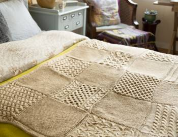 Cabled Afghan Knit-Along