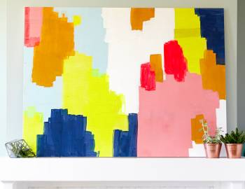 Create a Colorful Abstract Painting