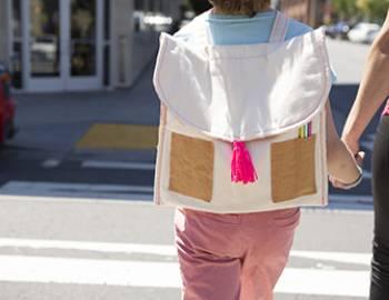 Sew a Kids' Back to School Backpack