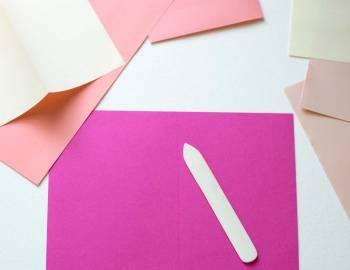 How to Use a Bone Folder