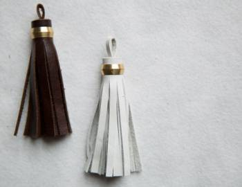 Make a Leather Tassel
