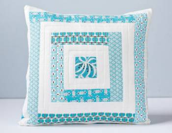 Log Cabin Quilting: Block-making Basics and Sewing a Pillow