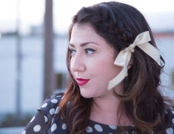 DIY Holiday Party Hair-Do