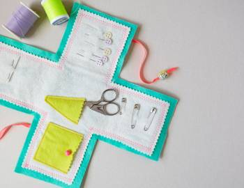 Sew a Felt Sewing Kit